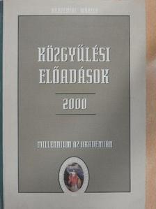 Bálint Csanád - Közgyűlési előadások 2000 május I. [antikvár]