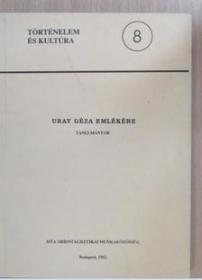 Csongor Barnabás - Uray Géza emlékére [antikvár]