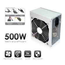 Ewent EW3900 PC tápegység ATX 500W V2.2 soho line 3xSata