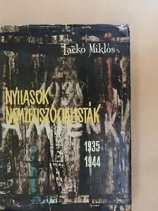 Lackó Miklós - Nyilasok, nemzetiszocialisták [antikvár]