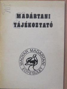 Ács Attila - Madártani tájékoztató 1985. április-junius [antikvár]