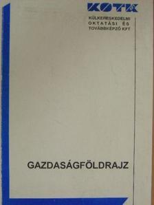 Rigóczki Csaba - Gazdaságföldrajz [antikvár]