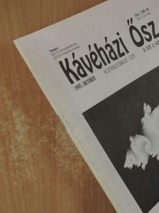 Buskó Tibor - Kávéházi Ősz 1995. október [antikvár]