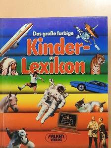 Ursula Kopp - Das große farbige Kinderlexikon [antikvár]