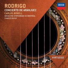 RODRIGO - CONCIERTO DE ARANJUEZ CD CHARLES DUTOIT, CARLOS BONELL