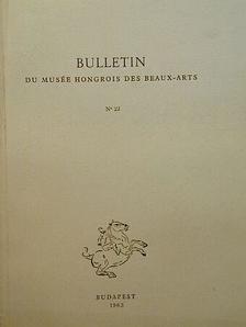 Balogh Jolán - Bulletin du Musée Hongrois des Beaux-Arts 22. [antikvár]