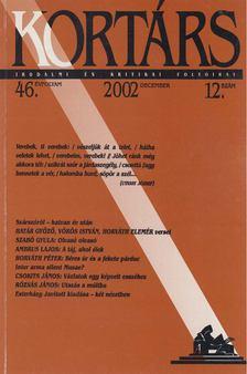 Kis Pintér Imre - Kortárs 2002/12. december [antikvár]