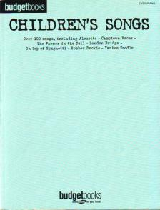 BUDGET BOOKS CHILDREN`S SONGS, OVER 100 SONGS FOR EASY PIANO