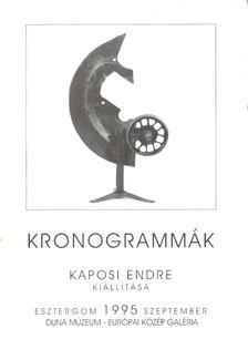 Kaján Imre - Kronogrammák [antikvár]