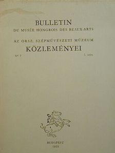 Balogh Jolán - Bulletin du Musée Hongrois des Beaux-Arts 7. [antikvár]