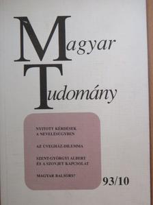 Csikós-Nagy Béla - Magyar Tudomány 1993. október [antikvár]