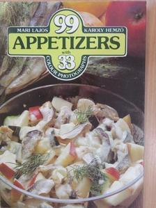 Hemző Károly - 99 Appetizers with 33 Colour Photographs [antikvár]
