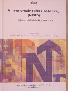 Bodánszky Hedvig - A nem erozív reflux betegség (NERD) [antikvár]