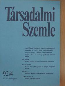 Antal László - Társadalmi Szemle 1992. április [antikvár]
