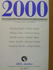 Bertók László - 2000 2003. október [antikvár]