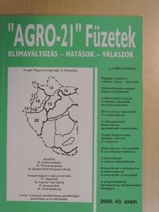 """Benedek Pál - """"AGRO-21"""" Füzetek 2005/43. [antikvár]"""
