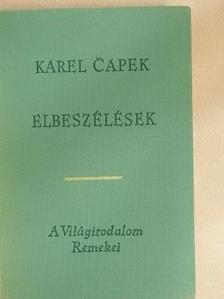 Karel Čapek - Elbeszélések [antikvár]