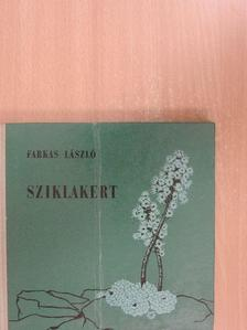 Farkas László - Sziklakert [antikvár]