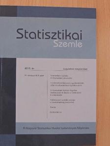 Aujeszky Pál - Statisztikai Szemle 2013. augusztus-szeptember [antikvár]