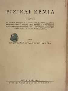 Erdey-Grúz Tibor - Fizikai kémia II. [antikvár]