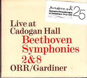 BEETHOVEN - SYMPHONIES 2&8 CD GARDINER
