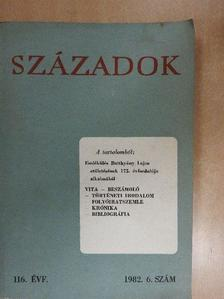 Andics Erzsébet - Századok 1982/6. [antikvár]