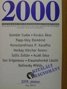 Aczél Géza - 2000 2005. június [antikvár]