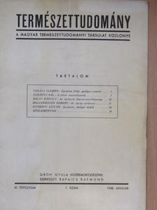 Ballenegger Róbert - Természettudomány 1948. január [antikvár]