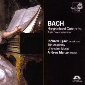 Bach - 7 HARPSICHORD CONCERTOS 2CD EGARR, MANZE