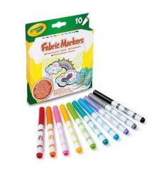 Crayola 10 db-os textilfilc készlet
