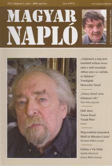 Oláh János - Magyar Napló 2009. március [antikvár]