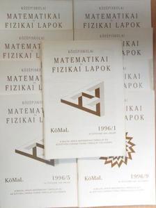 Komornik Vilmos - Középiskolai Matematikai és Fizikai Lapok 1996. január-december [antikvár]