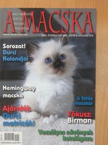 Almássy Fiona - A Macska 2011. július-augusztus [antikvár]